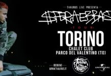 Sfera Ebbasta Tour, Chalet Club Torino, Torino by night