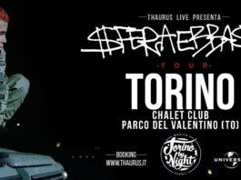 Sfera Ebbasta Tour, Chalet Club Torino, Torino by night
