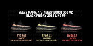 Yeezy Boost 350 V2, 3 nuovi colori delle Yeezy Boost 350 V2